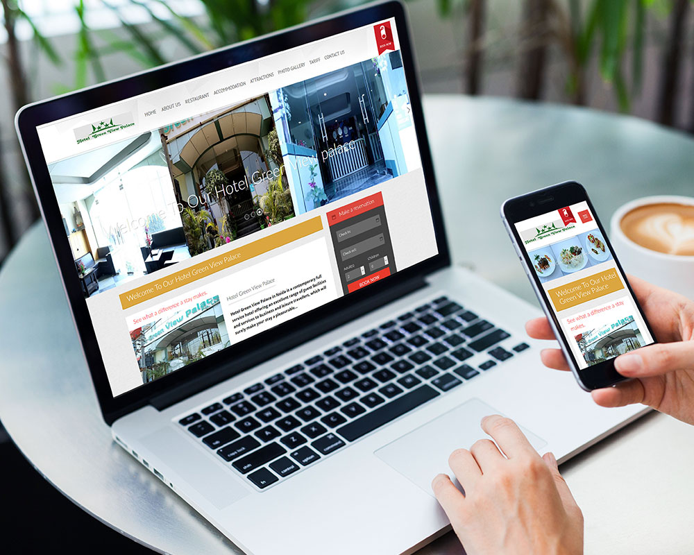 Hotel Website Design and Development